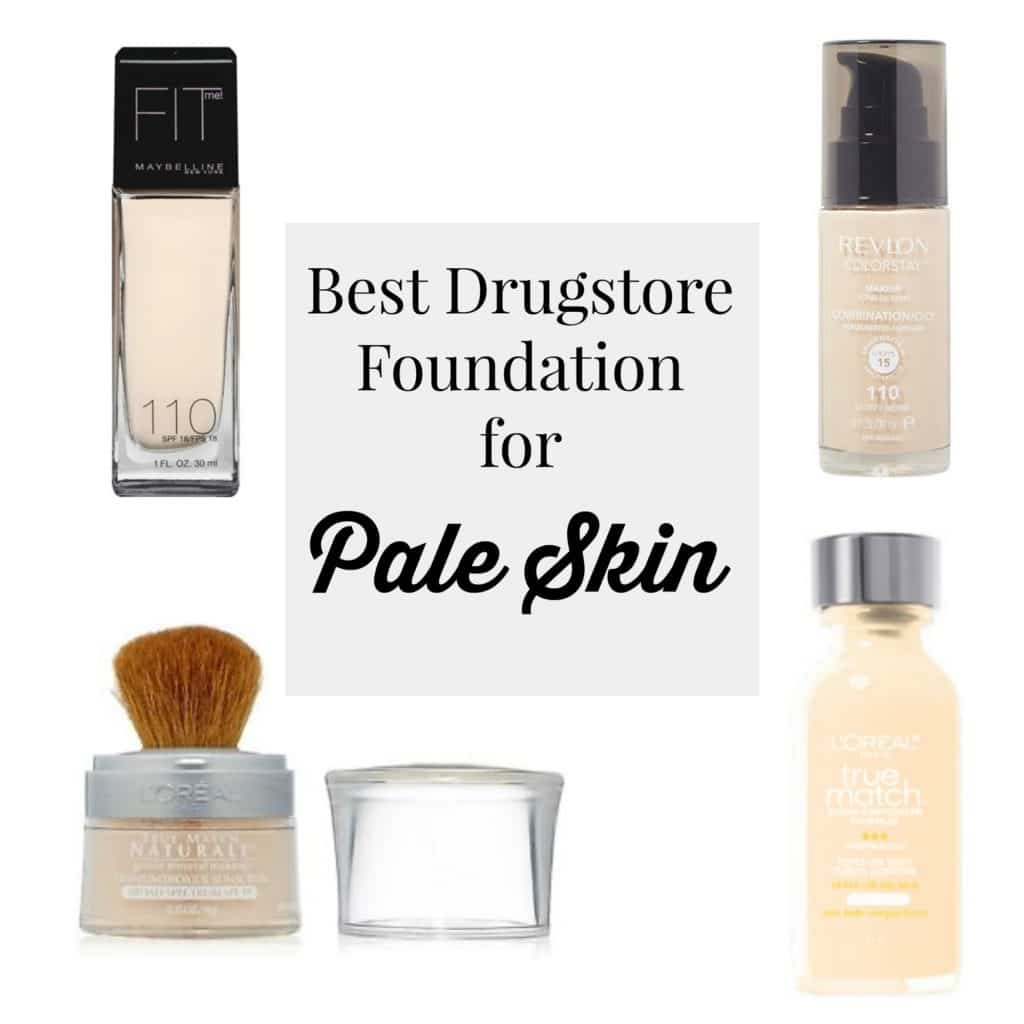 Best Drugstore Foundations Pale Skin Style Assisted