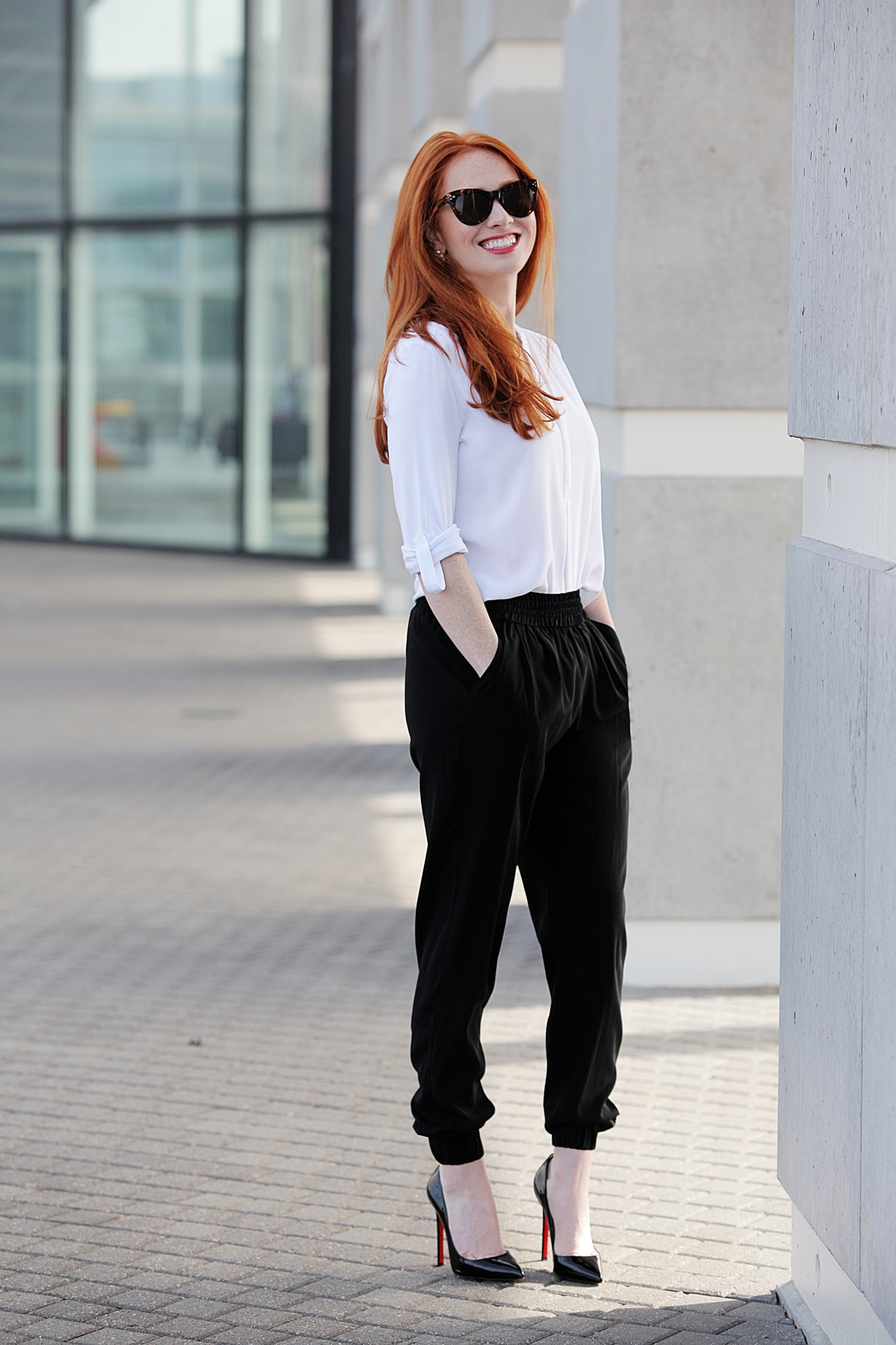 Outfit Of The Day: Harem Pants