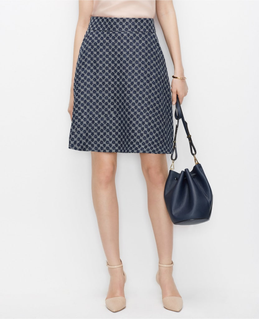 Spring Must Have: Colorful Work Skirt - Style Assisted